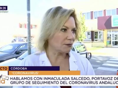 Declaraciones de la Dra. Inmaculada Salcedo en relación al Coronavirus (Covid-19)