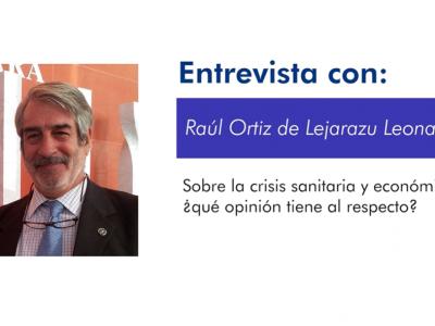 ENTREVISTA CON EL DR. RAÚL ORTÍZ DE LEJARAZU: Gripe y Coronavirus durante la actual pandemia.