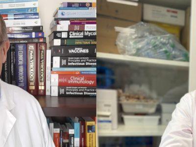 PREMIO COMO DIVULGADORES A DOS COMUNICADORES CIENTÍFICOS ONE HEALTH. SANTIAGO VEGA Y FERNANDO FARIÑAS